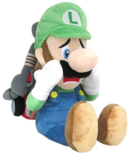Upset Luigi with Poltergust 5000