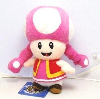 Toadette 7 Push Super Mario Plush